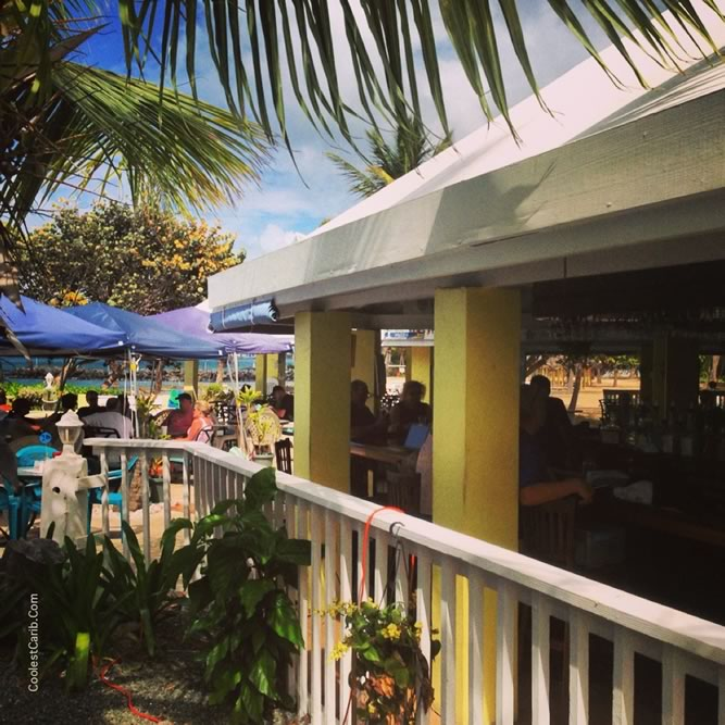 The New Deep End Bar and Grill, Tamarind Reef, St. Croix, USVI